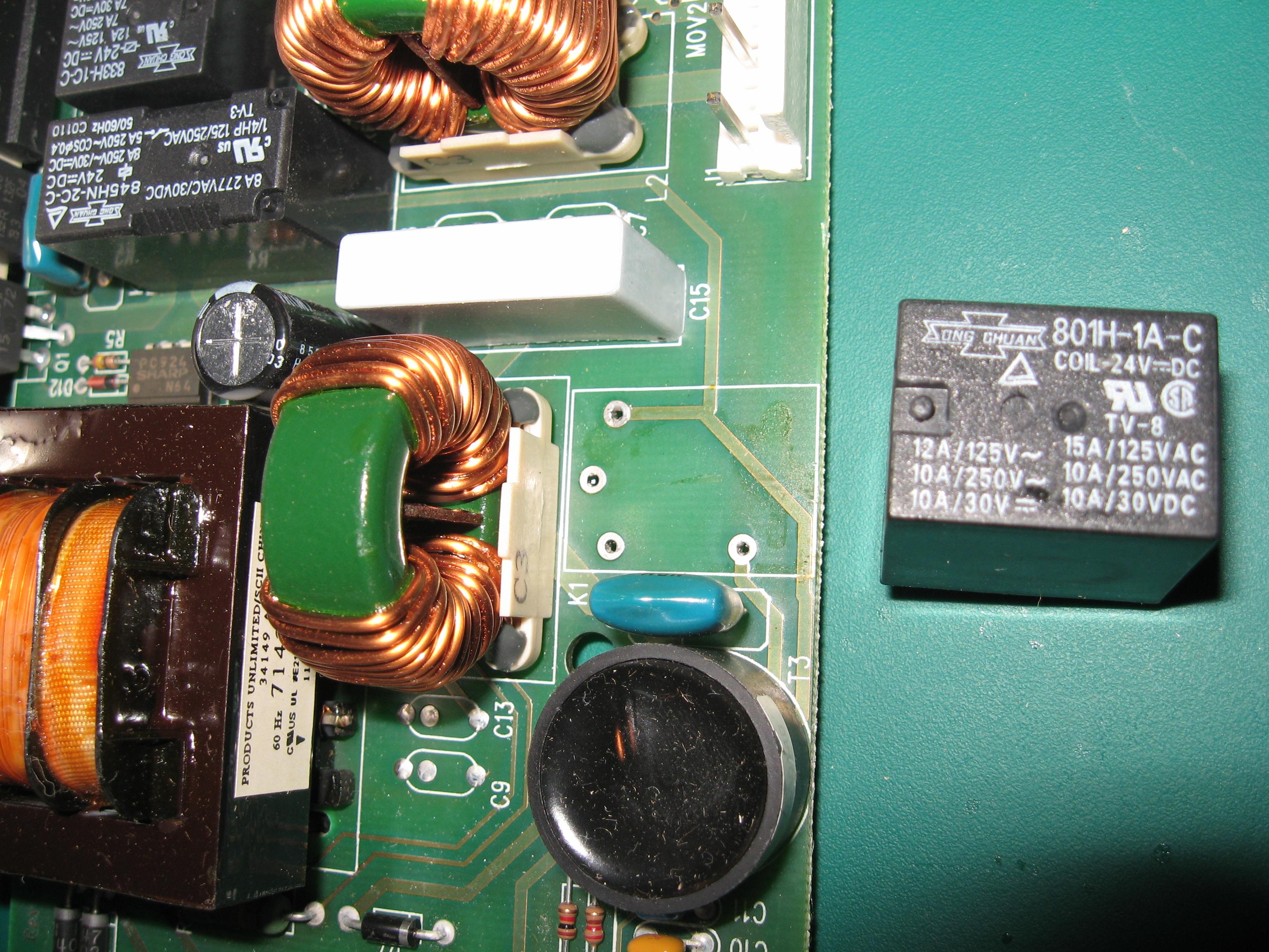 Genie Isd 990 Garage Door Openerlights Stay On Fixed It