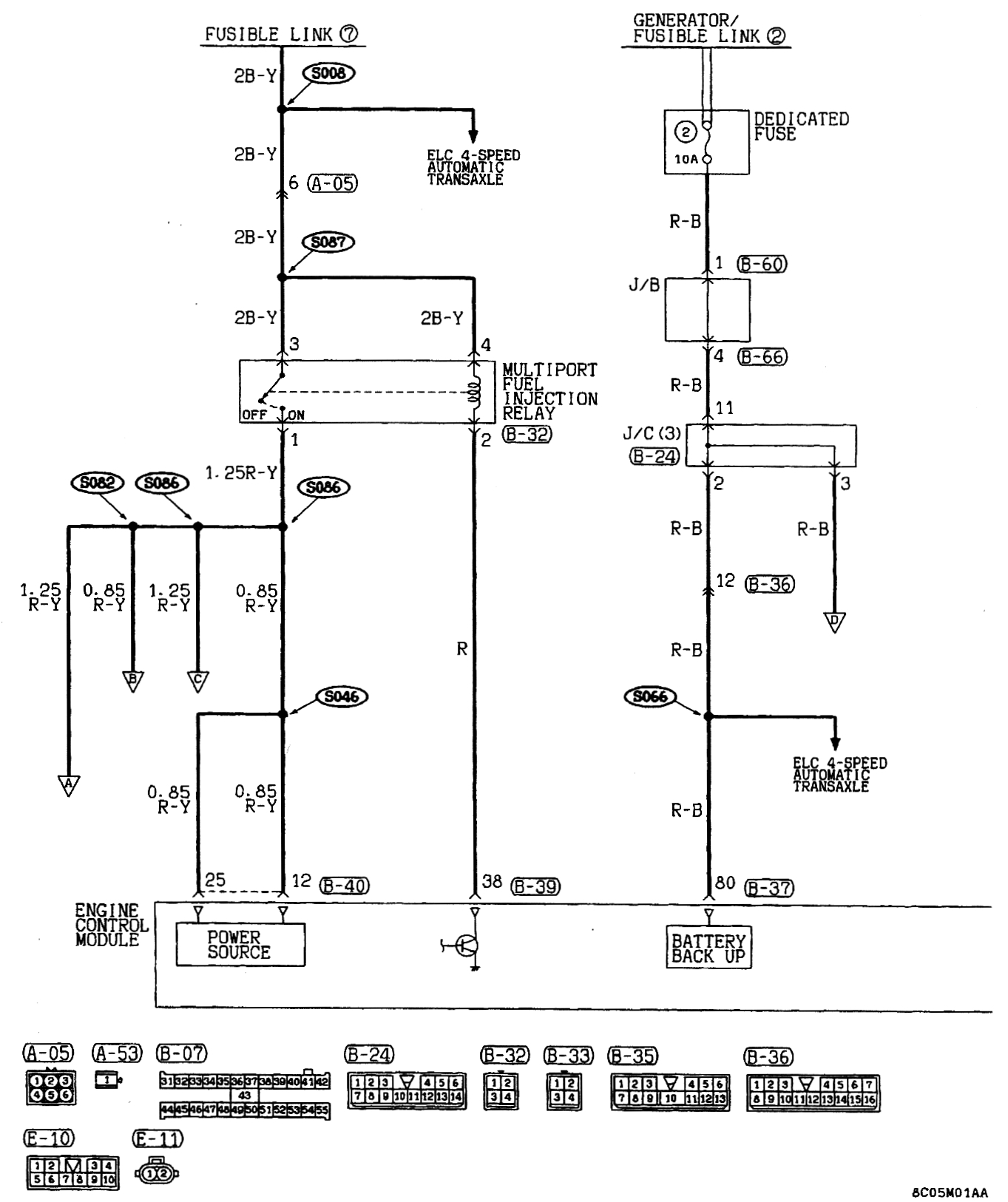 1998 mitsubishi mirage wiring diagrams circuit wiring and diagram rh bdnewsmix com